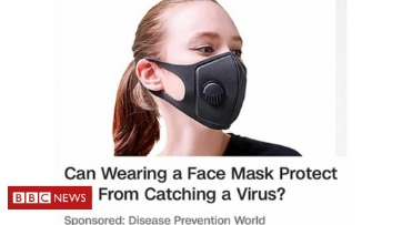 face mask for coronavirus
