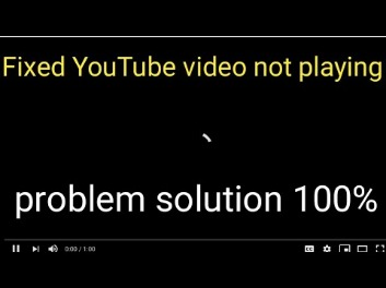why my youtube not working