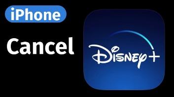 cancel disney+